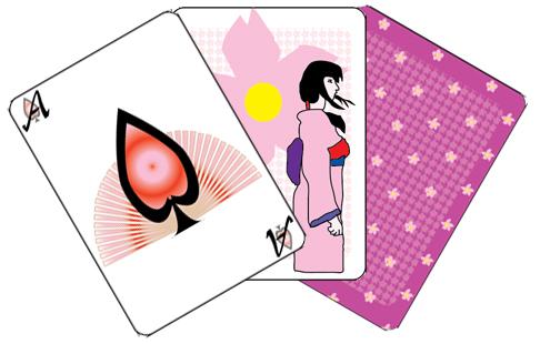 Sakura-geisha Poker by thehippie7