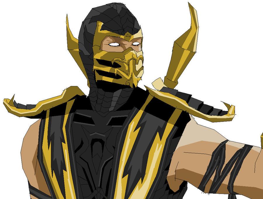 Mortal Kombat 9 Scorpion by MarkiPewdieMash on DeviantArt
