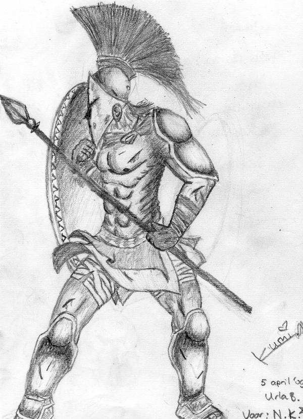 Spartan Warrior by Kumiko-Love on DeviantArt