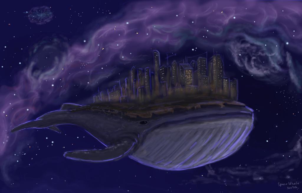 blue whale wallpaper