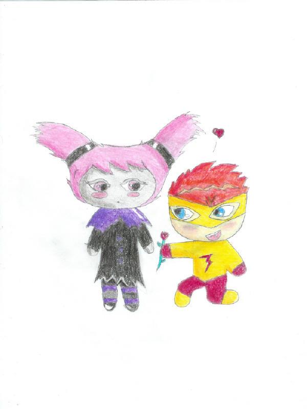 KFxJ- A Chibi Valentine by kitskie