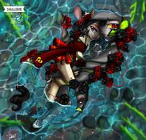 rojo y negro by 4myXD