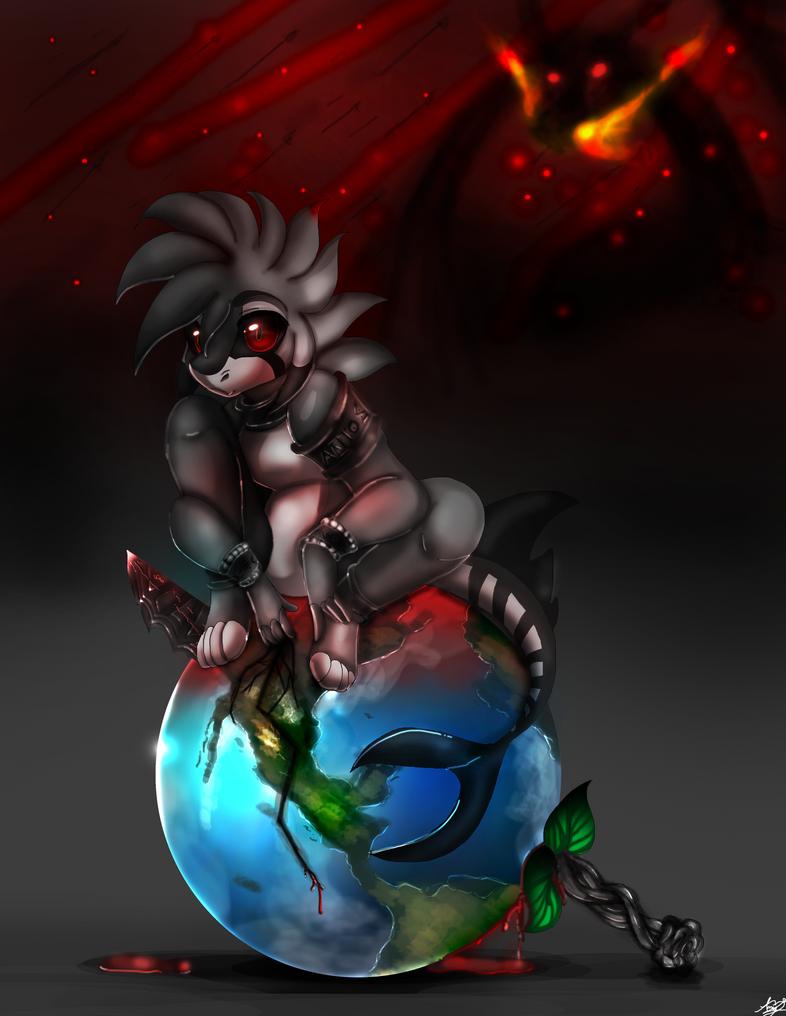 solo quiero ver el mundo arder by 4myXD