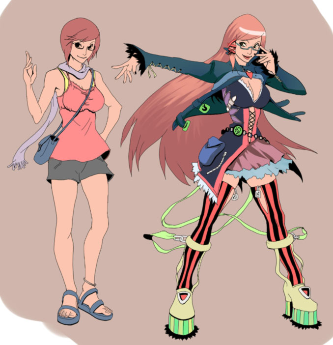 Character design by TentacleMonsterChu