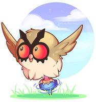 [Contest Entry] Hoothoot by RobbieReyes