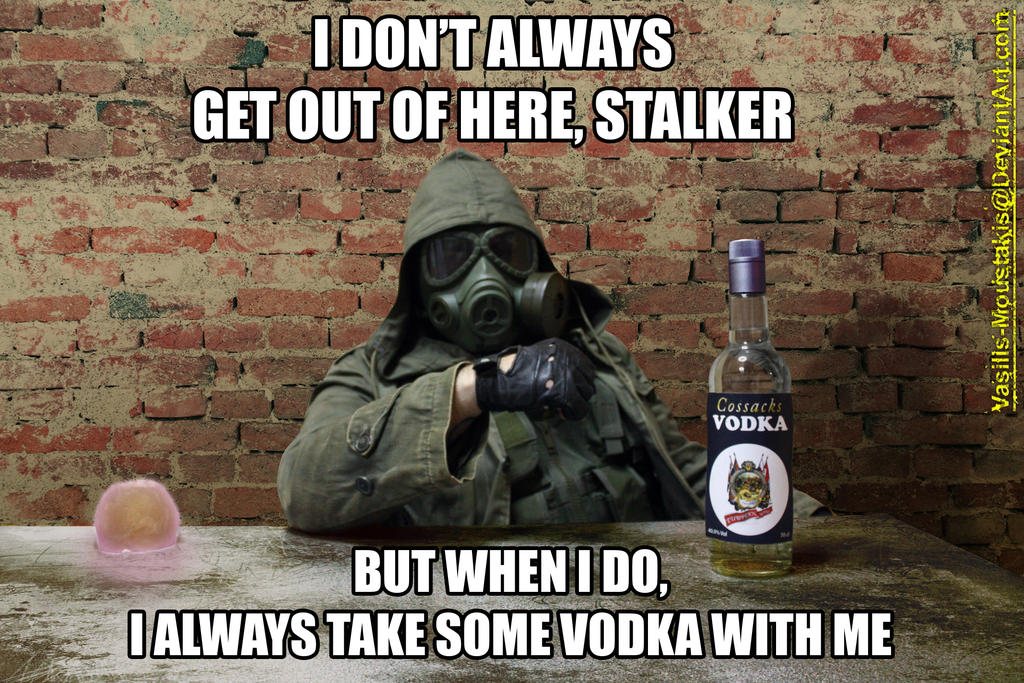I Don't Always Get Out Of Here Stalker by Vasilis-Moustakis
