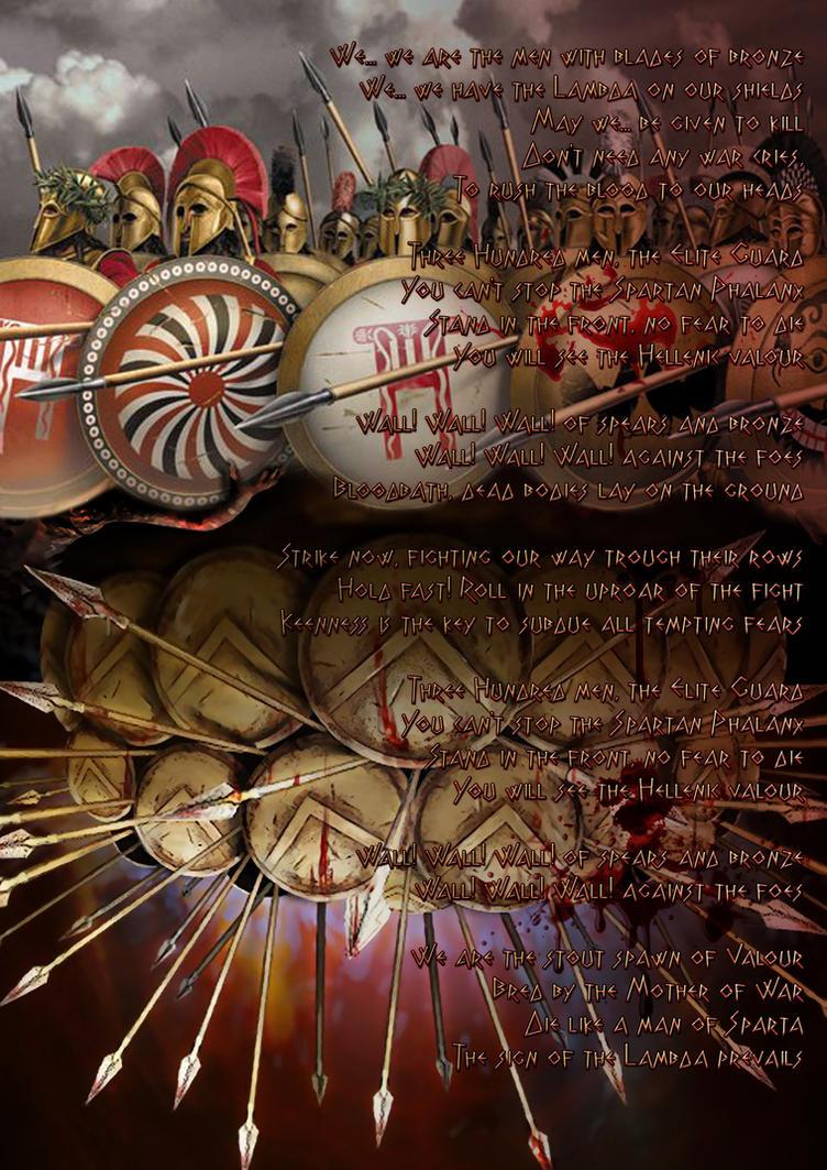 Spartan Phalanx by Vasilis-Moustakis