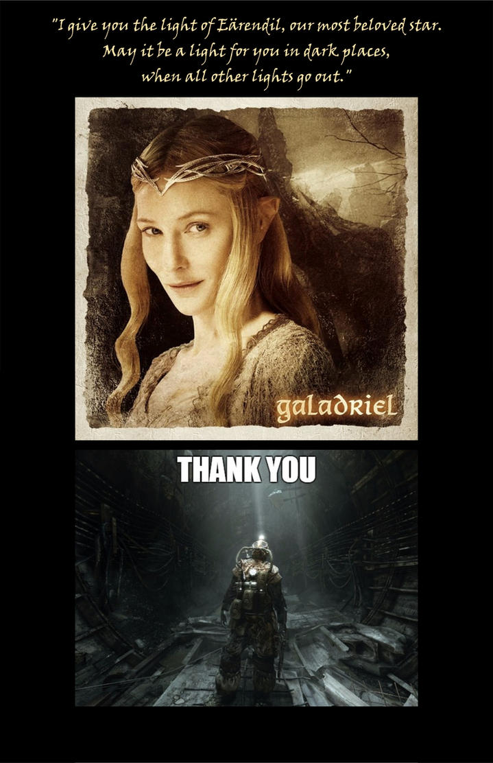 Galadriel Meets Metro: Last Light by Vasilis-Moustakis