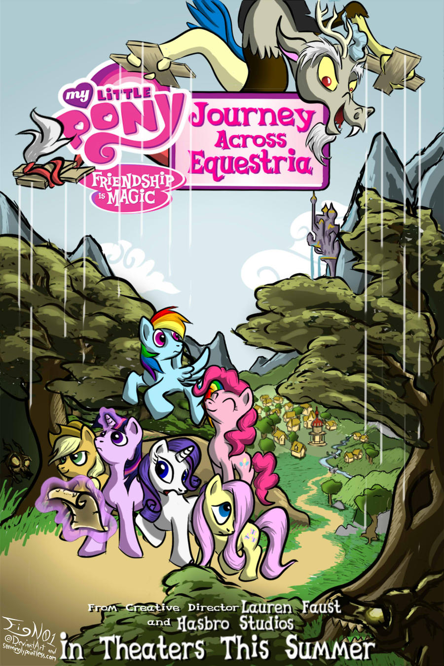 My Little Pony: Friendhip is Magic, The Movie by FigN01