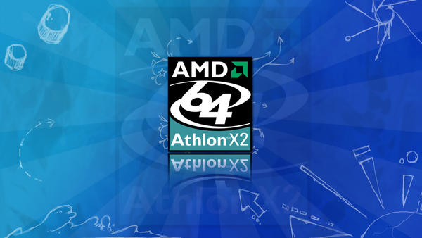 Athlon X2 Wallpaper by dhrandy