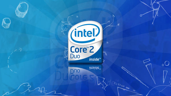 Intel Core 2 Duo wallpaper