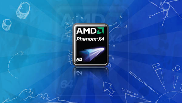AMD Phenom X4 wallpaper