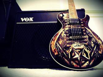 Vox VT50 with Dean Guitar by dhrandy