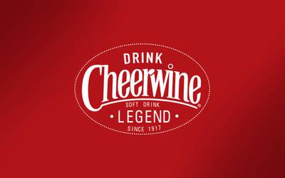 Cheerwine Legend Speckled Wallpaper by dhrandy