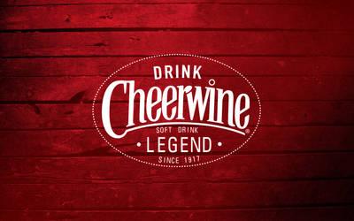 Cheerwine Legend Grunge Wallpaper by dhrandy