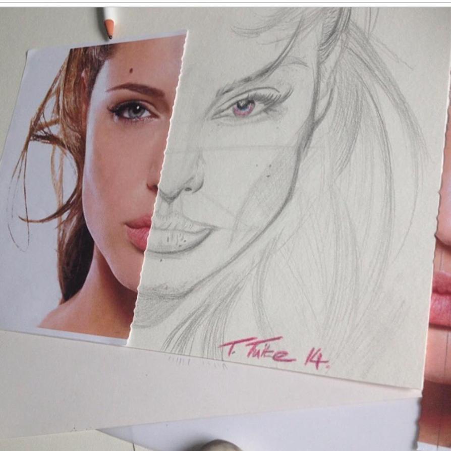 Angelina Jolie by yrd