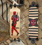 Deadpool Longboard by MJP67