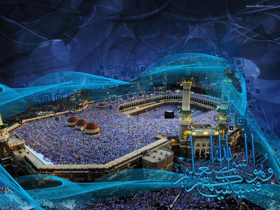 أجمل خلفيات شهر رمضان المبارك 2014 بجودة HD حصريا على منتديات إبداع Makkah_Abstract_Islamic_Art_by_xtrememediaworx
