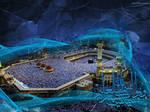Makkah Abstract Islamic Art
