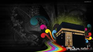 Makkah Abstract color Islamic