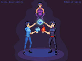 Neera: Dark Secrets - Title Screen Art by AMK-Games