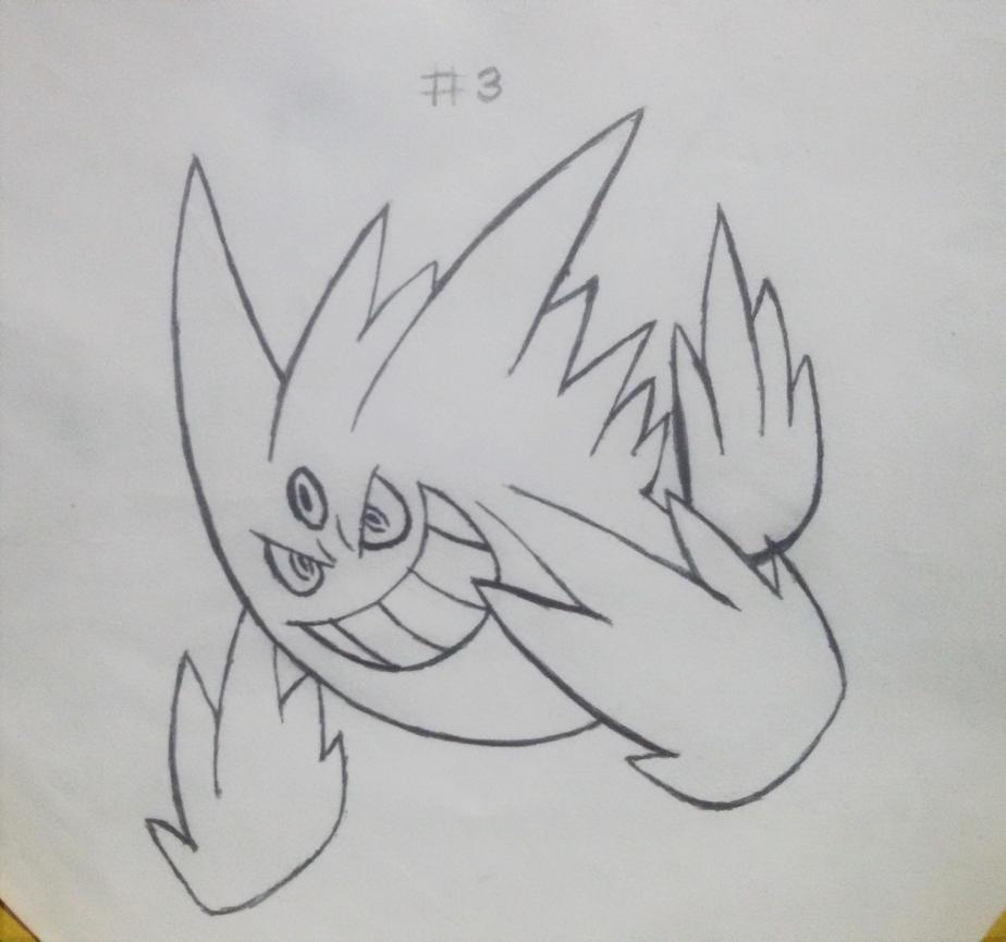 Mega Gengar - Pokemon by AMK-Games