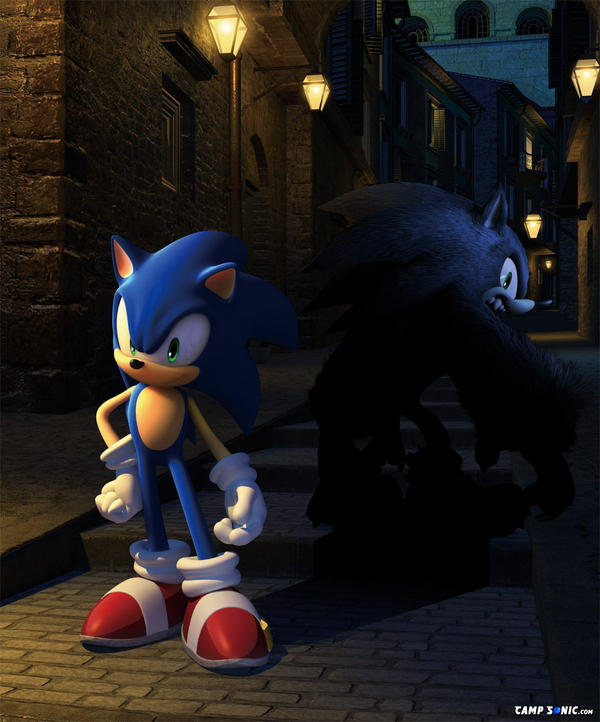 Sonic The Werehog By Sonicthehedghog2416