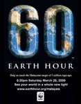 Support Earth Hour Malaysia by VisionMsia