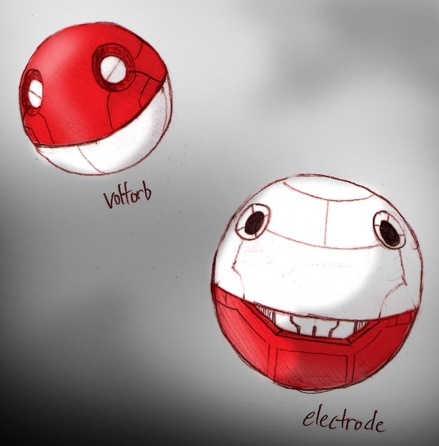 electrode and voltorb - photo #14