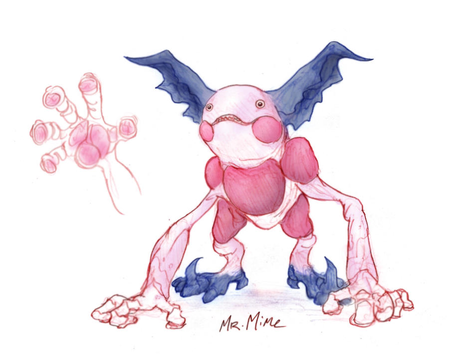 mr mime by rtradke on deviantart