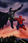 Bats and Spidey by RtRadke