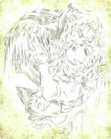 Dracula and Lisa by R-Daikon