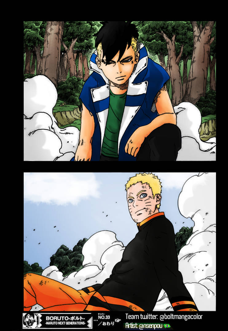 Boruto Chapter 33 Page 40 - Color [Korean Version] by Saulo-NSTV on