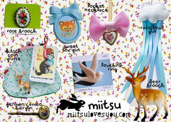 miitsu accessories by jesskajuice