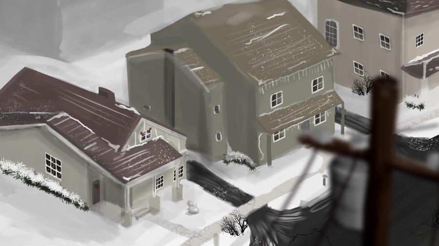 Neighborhood Study 5 by SolMatter