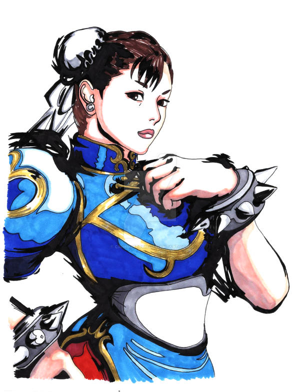 SF4 - Chun Li by crimsondrgn