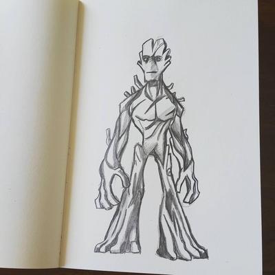 Groot by crimsondrgn