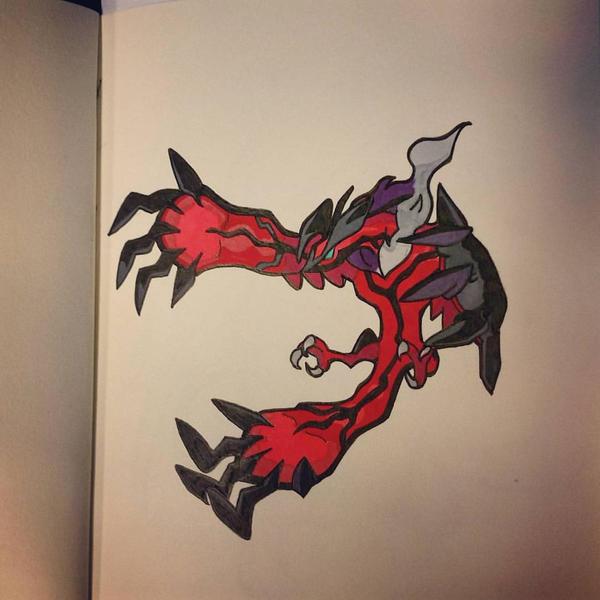 Yveltal by crimsondrgn