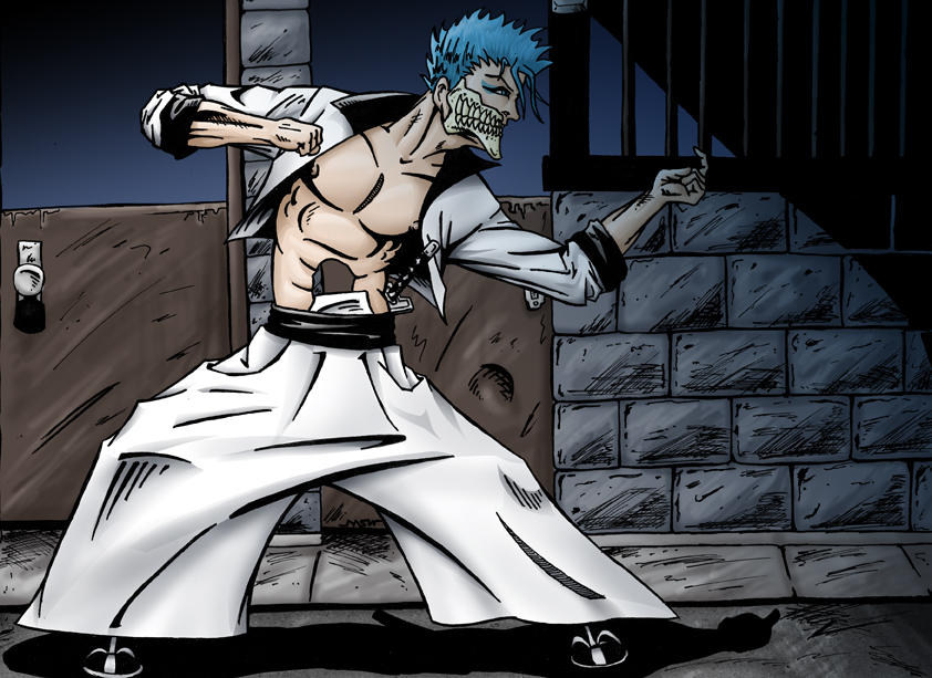 Grimmjow by RiffThirteen