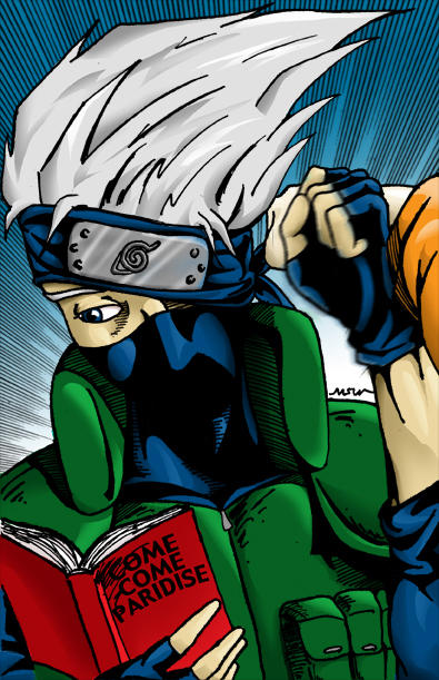 Training With Kakashi by RiffThirteen