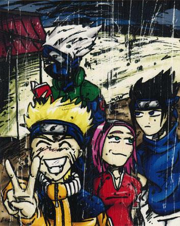 Naruto fanart by RiffThirteen