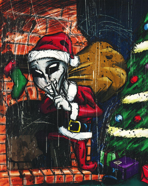 Happy Holidays by RiffThirteen