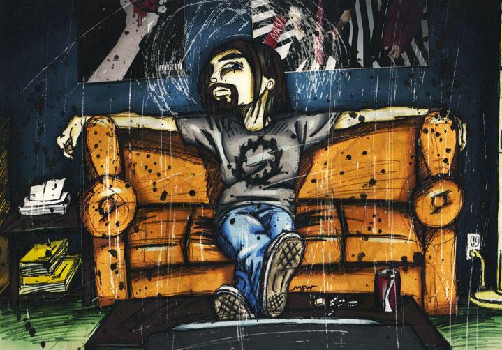 Jesus of Suburbia by RiffThirteen