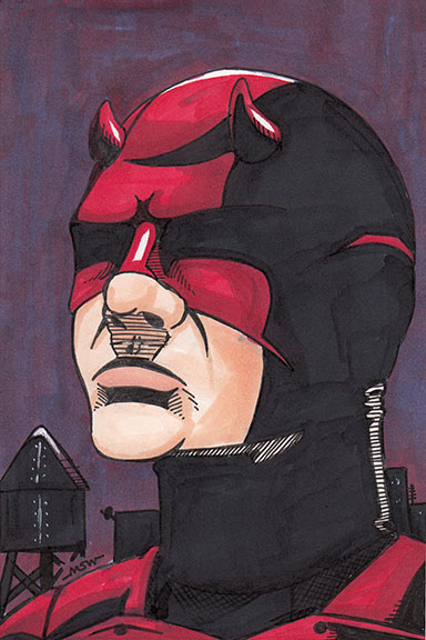 Daredevil by RiffThirteen