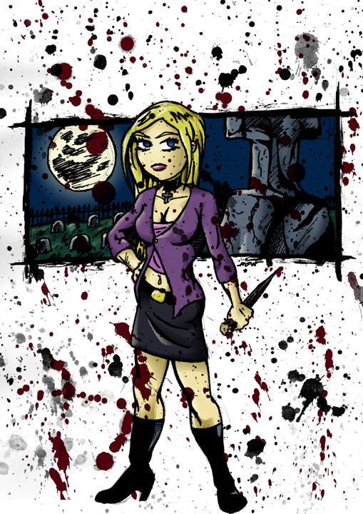 Buffy the vampire Slayer by RiffThirteen