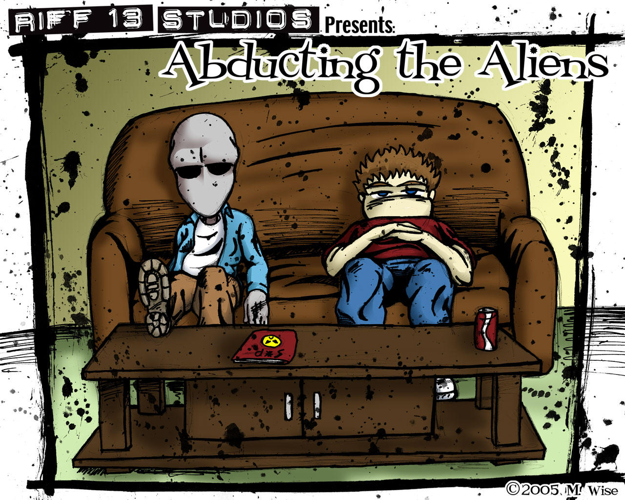 Abducting The Aliens Wallpaper by RiffThirteen