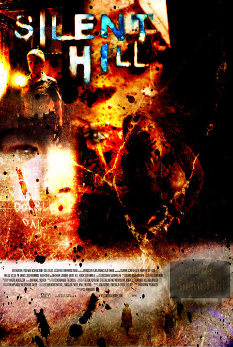 Silent Hill Movie Poster by RiffThirteen