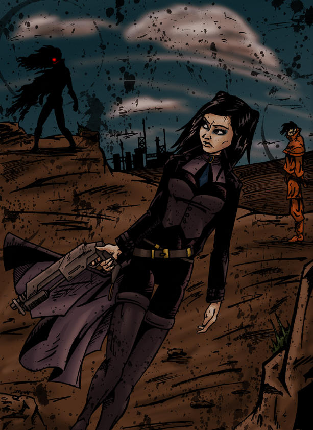 Ergo Proxy 3 - Colour v1 by RiffThirteen