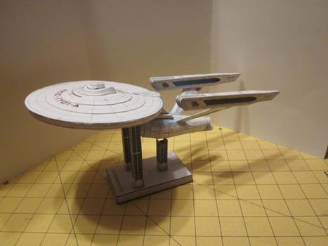Papercraft Enterprise A 3