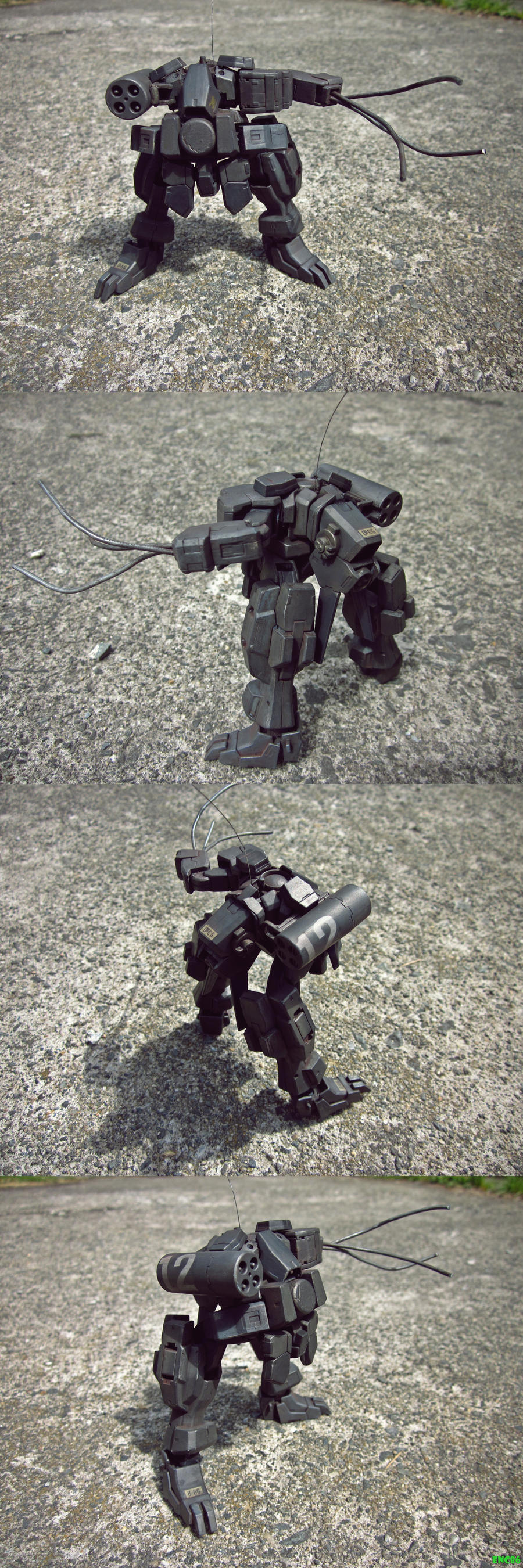 Kitbashed Mech by enc86
